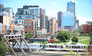 Trains in Denver