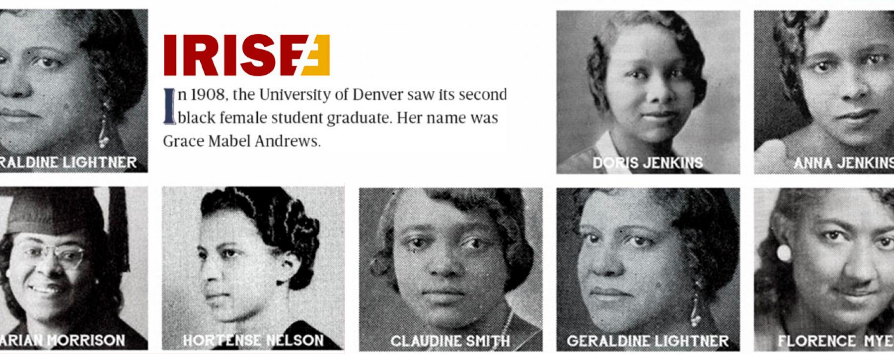 faces of black women of DU history